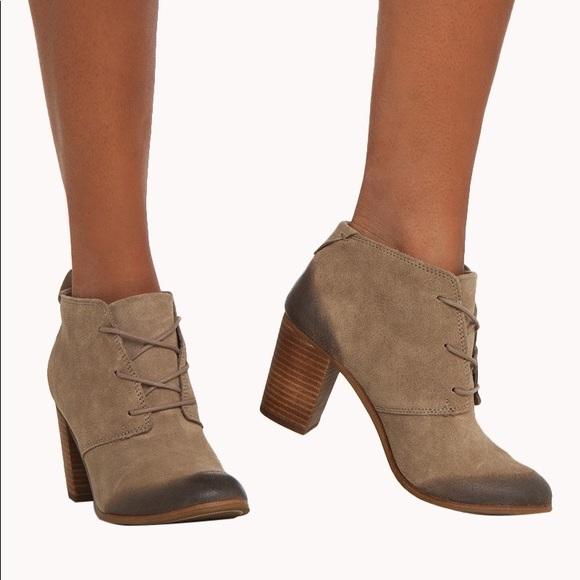 Toms Shoes | Lunata Lace Up Boots